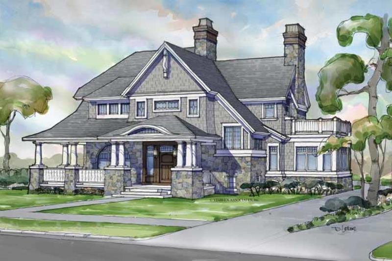 Craftsman Exterior - Front Elevation Plan #928-239 - Houseplans.com