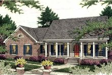 Traditional Exterior - Front Elevation Plan #406-286