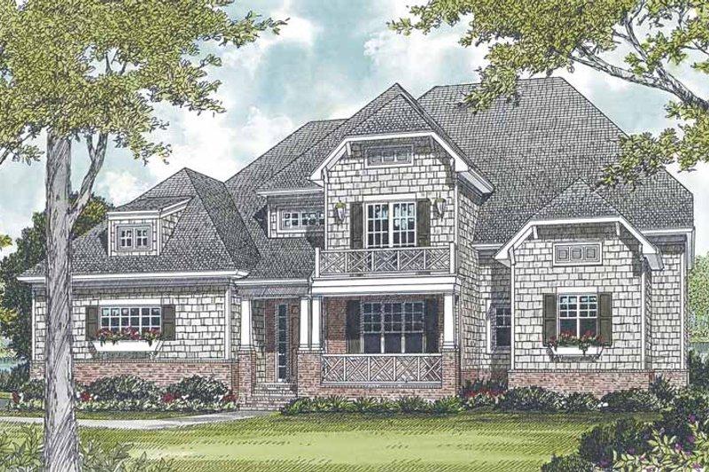 Craftsman Exterior - Front Elevation Plan #453-560