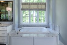 European Interior - Master Bathroom Plan #929-855
