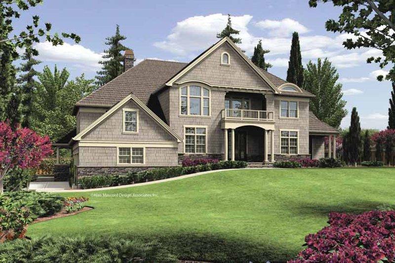 Craftsman Exterior - Front Elevation Plan #48-854