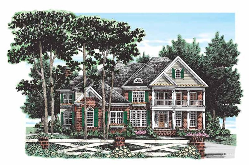 Traditional Exterior - Front Elevation Plan #927-265 - Houseplans.com