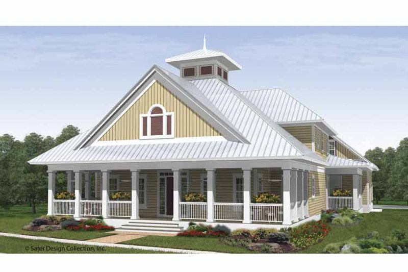Country Exterior - Front Elevation Plan #930-408 - Houseplans.com