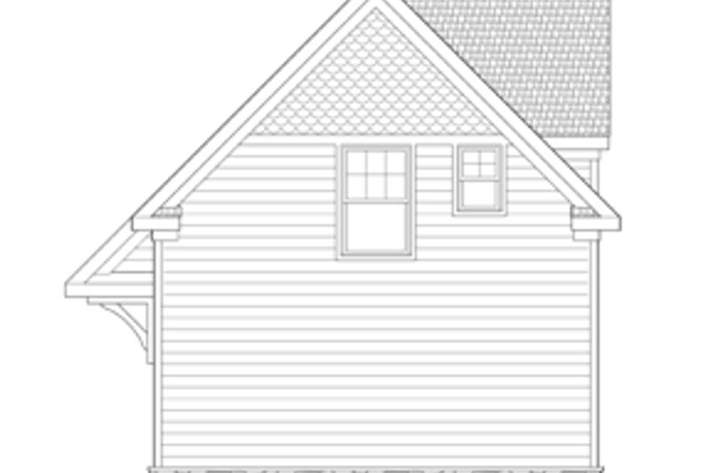 Craftsman Exterior - Rear Elevation Plan #1029-65 - Houseplans.com