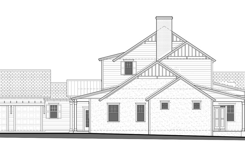 Country Exterior - Other Elevation Plan #1058-80 - Houseplans.com