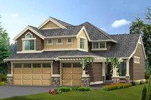 Dream House Plan - Craftsman Exterior - Front Elevation Plan #132-360