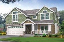 House Design - Craftsman Exterior - Front Elevation Plan #132-321