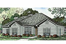 House Plan Design - Ranch Exterior - Front Elevation Plan #17-3109