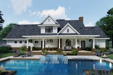 Home Plan - Farmhouse Exterior - Front Elevation Plan #120-261