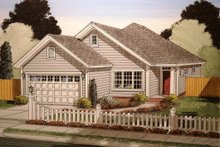 Dream House Plan - Traditional Exterior - Front Elevation Plan #513-15