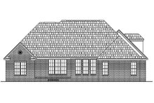 European Exterior - Rear Elevation Plan #430-31