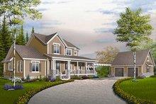 Farmhouse Exterior - Front Elevation Plan #23-830