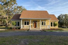 Architectural House Design - Southern Exterior - Front Elevation Plan #406-284