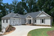Country Style House Plan - 4 Beds 4 Baths 4202 Sq/Ft Plan #437-120 Exterior - Front Elevation