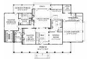 Farmhouse Style House Plan - 4 Beds 3.5 Baths 4227 Sq/Ft Plan #137-282 Floor Plan - Main Floor Plan