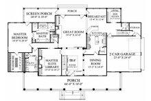 Farmhouse Floor Plan - Main Floor Plan Plan #137-282