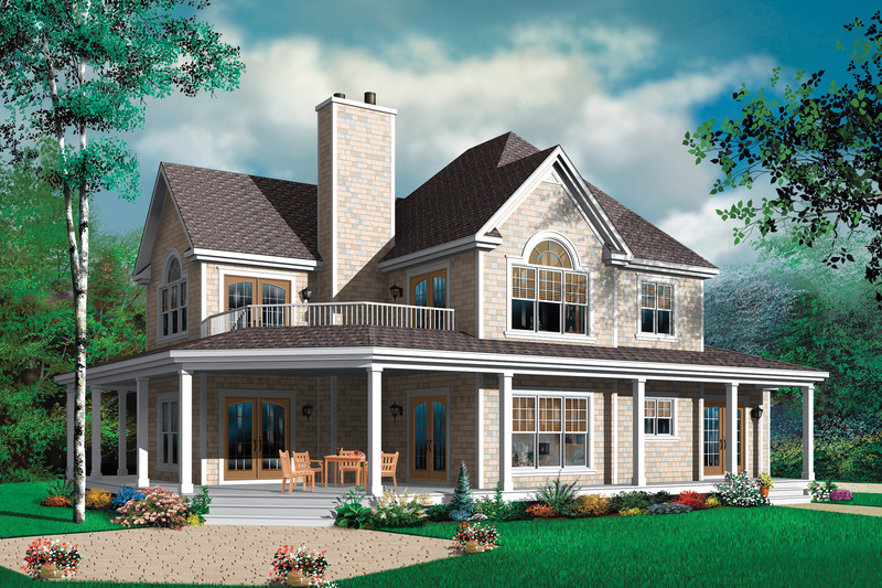 Country style house farm home elevation with photos