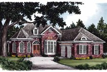 Home Plan - European Exterior - Front Elevation Plan #927-592