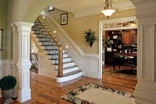 Home Plan - Colonial Interior - Entry Plan #927-923