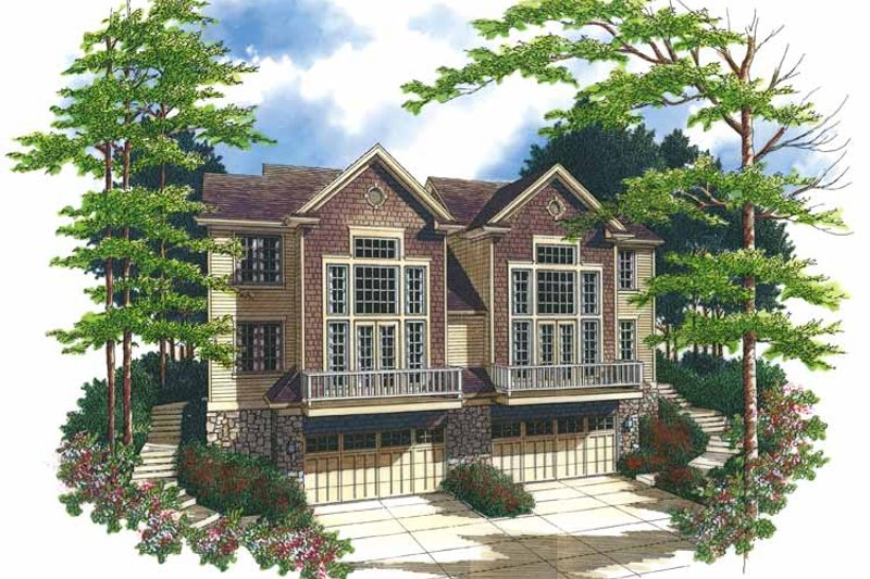 Traditional Exterior - Front Elevation Plan #48-843