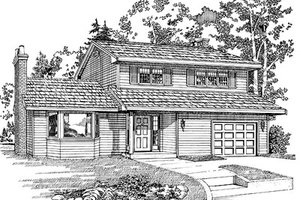 Traditional Exterior - Front Elevation Plan #47-397