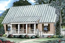 House Plan Design - Country Exterior - Front Elevation Plan #17-2885