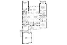 Country Floor Plan - Main Floor Plan Plan #930-466