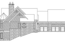 Dream House Plan - Craftsman Exterior - Other Elevation Plan #929-931