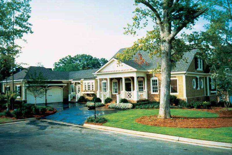 Classical Exterior - Front Elevation Plan #429-248 - Houseplans.com