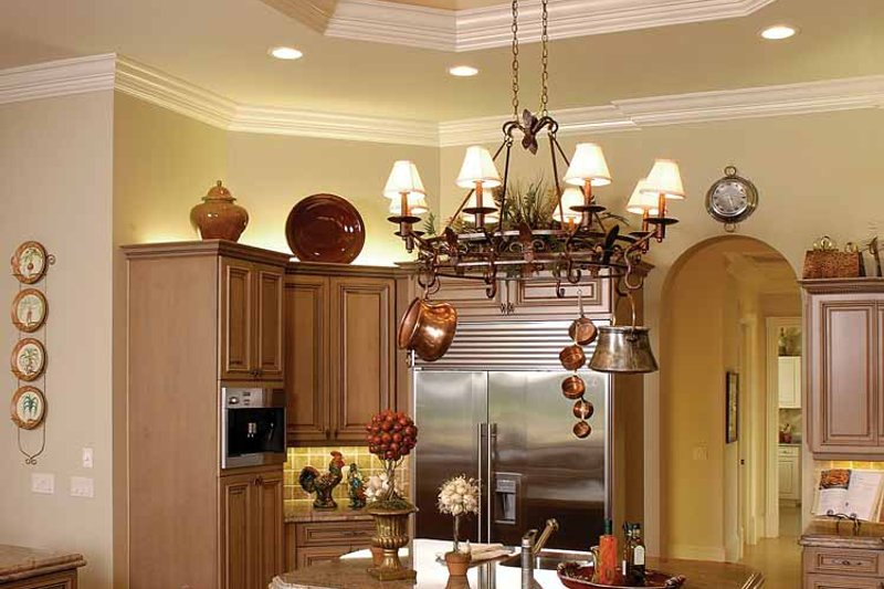 Mediterranean Interior - Kitchen Plan #1017-1 - Houseplans.com