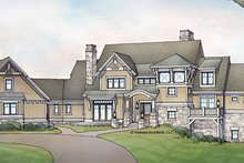 Architectural House Design - Craftsman Exterior - Front Elevation Plan #928-224