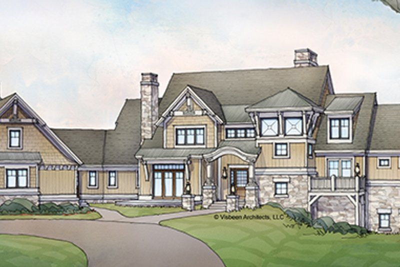 Craftsman Exterior - Front Elevation Plan #928-224 - Houseplans.com
