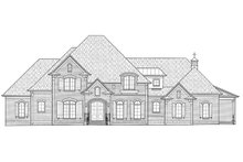 House Design - European Exterior - Front Elevation Plan #1054-30