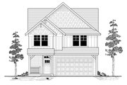 Craftsman Style House Plan - 5 Beds 2.5 Baths 2824 Sq/Ft Plan #53-521 Exterior - Front Elevation