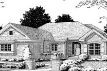Home Plan - Ranch Exterior - Front Elevation Plan #20-357