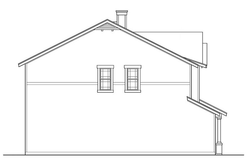 Country Exterior - Other Elevation Plan #472-370 - Houseplans.com
