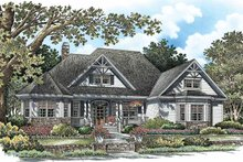 Country Exterior - Front Elevation Plan #929-756