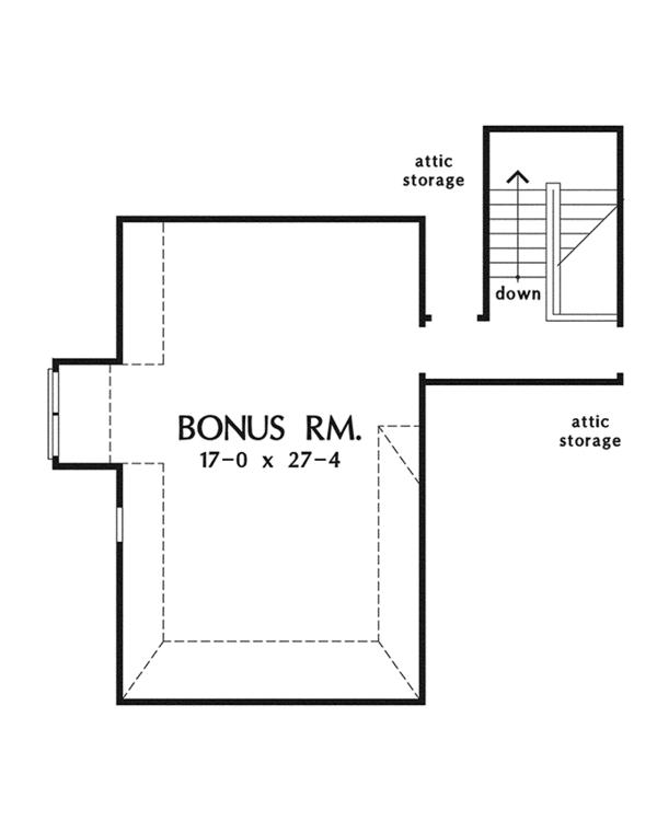 Dream House Plan - European Floor Plan - Other Floor Plan #929-914