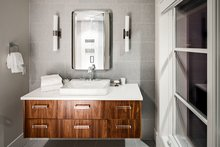 House Design - Contemporary Interior - Bathroom Plan #928-287