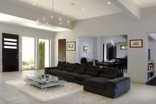 Architectural House Design - Contemporary Interior - Family Room Plan #928-77