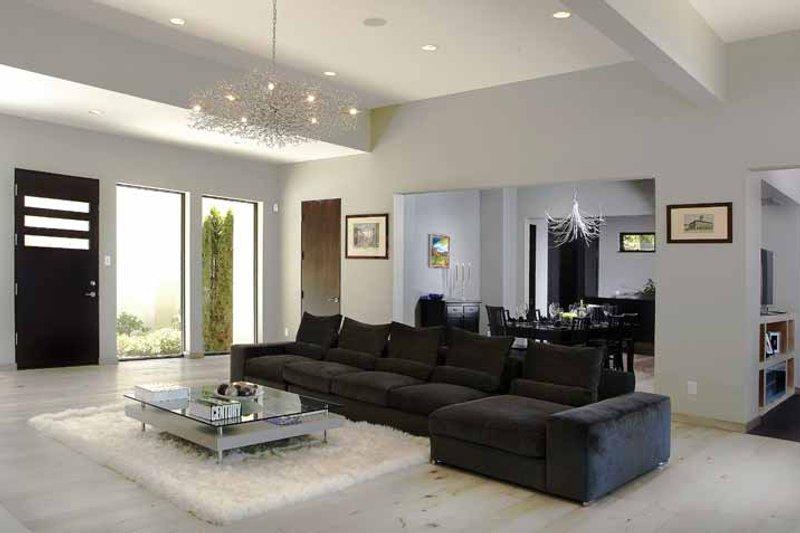 Contemporary Interior - Family Room Plan #928-77 - Houseplans.com