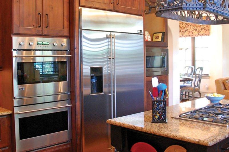 Mediterranean Interior - Kitchen Plan #1058-15 - Houseplans.com