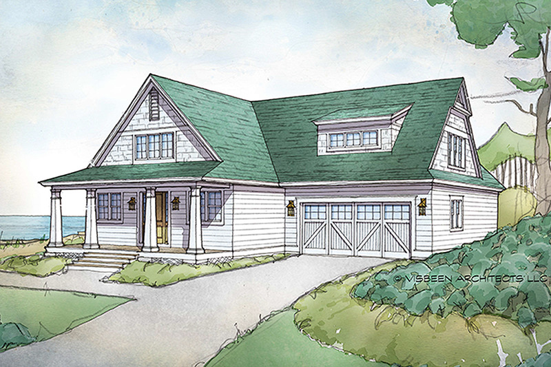 Traditional Exterior - Front Elevation Plan #928-288 - Houseplans.com