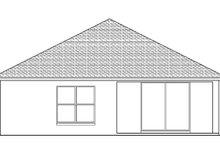 Home Plan - Mediterranean Exterior - Rear Elevation Plan #1058-93