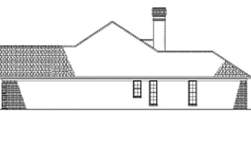 Ranch Exterior - Other Elevation Plan #17-2624 - Houseplans.com