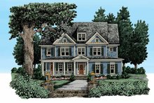 Dream House Plan - Craftsman Exterior - Front Elevation Plan #927-325