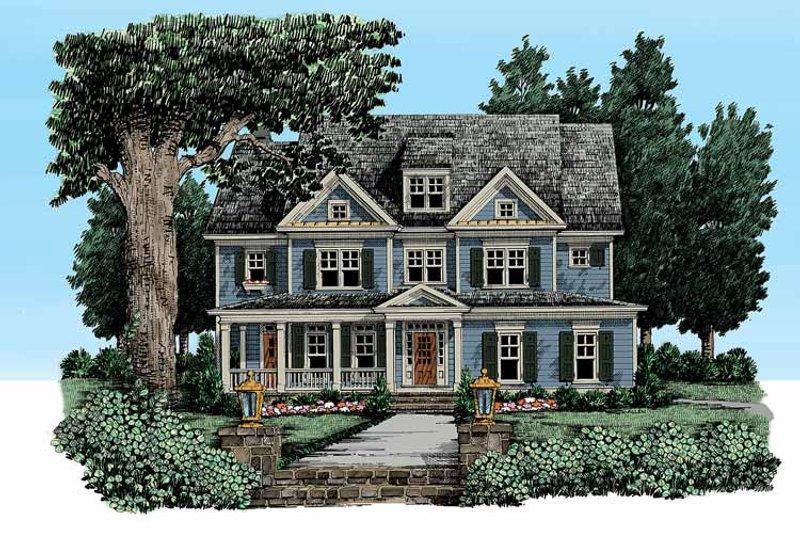 Craftsman Exterior - Front Elevation Plan #927-325 - Houseplans.com