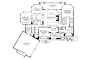 Craftsman Style House Plan - 4 Beds 4 Baths 3014 Sq/Ft Plan #929-937 Floor Plan - Main Floor