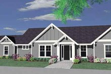 Traditional Exterior - Front Elevation Plan #509-208