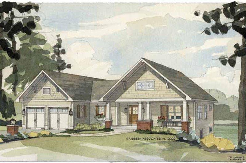 House Plan Design - Craftsman Exterior - Front Elevation Plan #928-85